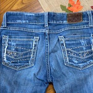 Bke flare jeans size 26 long